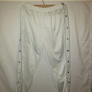 Reebok Vintage break away pants Powder White